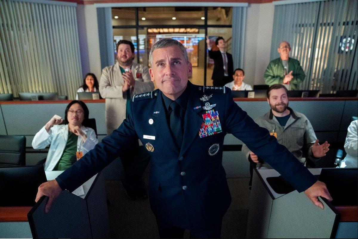 Space Force Steve Carell © Netflix
