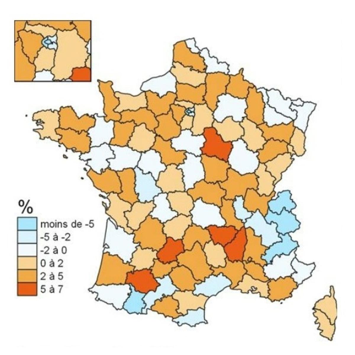 Orange et l'INSEE dressent le tableau des mouvements de population avant/après confinement