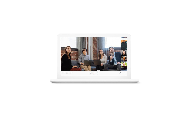 Google Meet s'appelle désormais Google Meet, car avant c'étant Google Hangouts Meet...