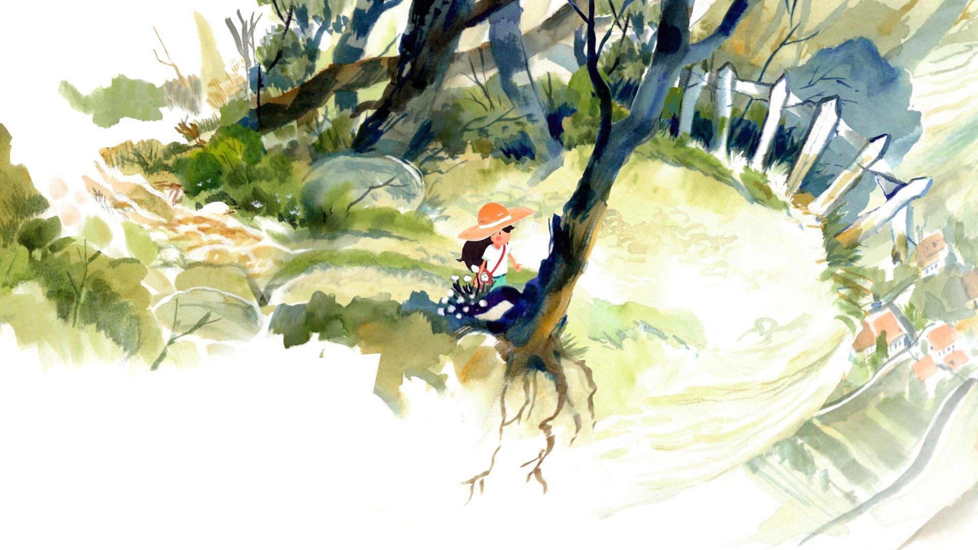 Dordogne : un jeu narratif made in France, tout en aquarelle, se dévoile dans un premier trailer