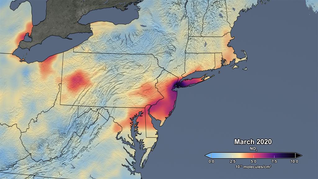 NASA pollution air mars 2020