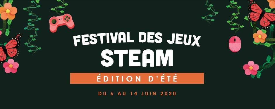 Festival des jeux Steam été