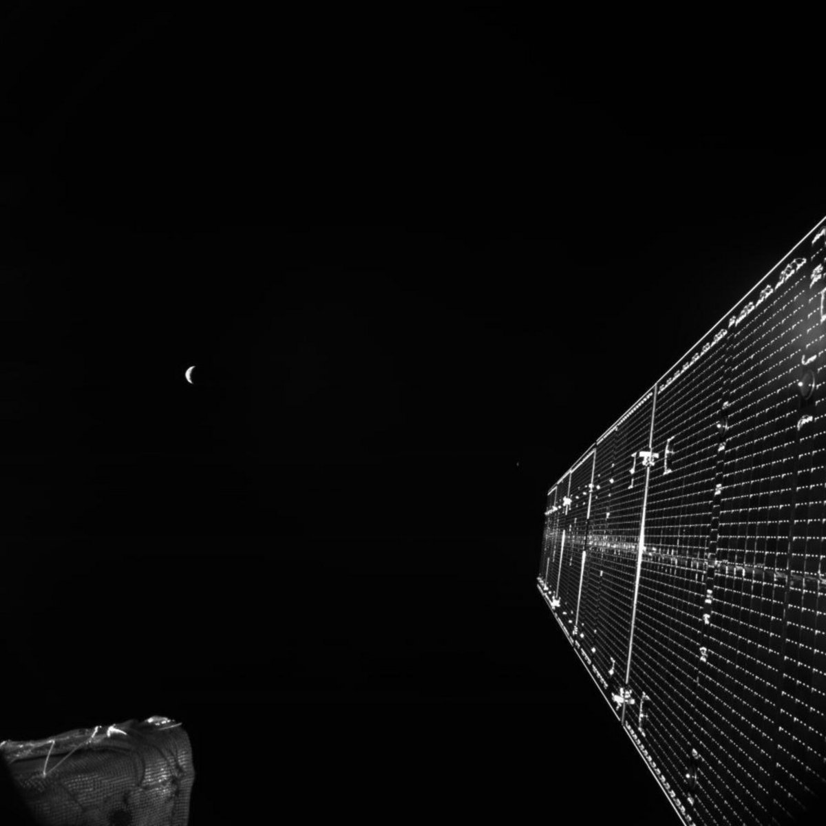 BepiColombo survol Terre 3 ©ESA/BepiColombo/MTM, CC BY-SA 3.0 IGO