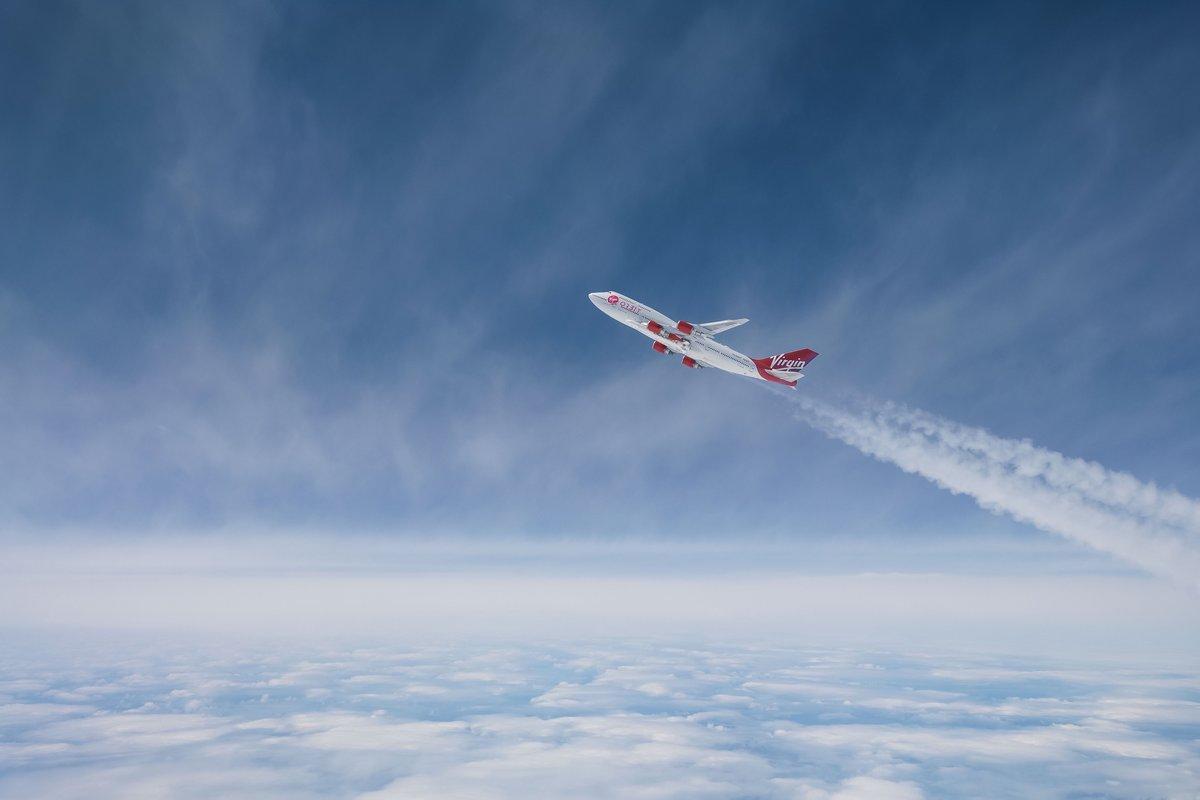 Virgin Orbit 747 ©Virgin Orbit