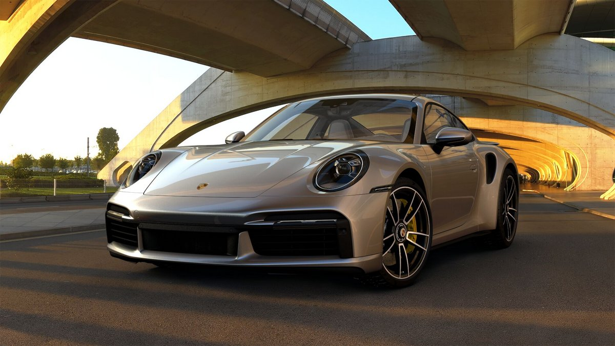 Porsche 911 Turbo S 992 © Porsche