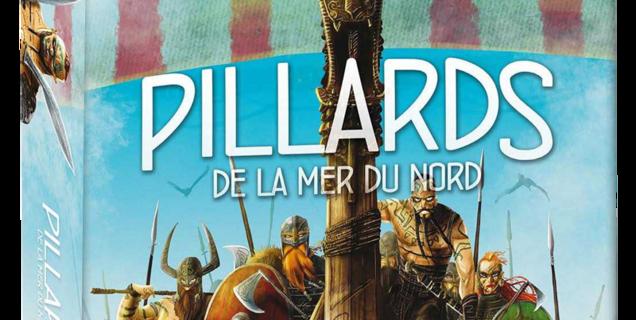 Sur un plateau | Pillards de la Mer du Nord : en Valhalla un bon jeu