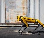 COVID-19 : le robot Spot de Boston Dynamics utilisé pour un diagnostic à distance
