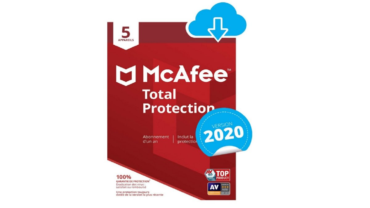 Antivirus McAfee 1 an