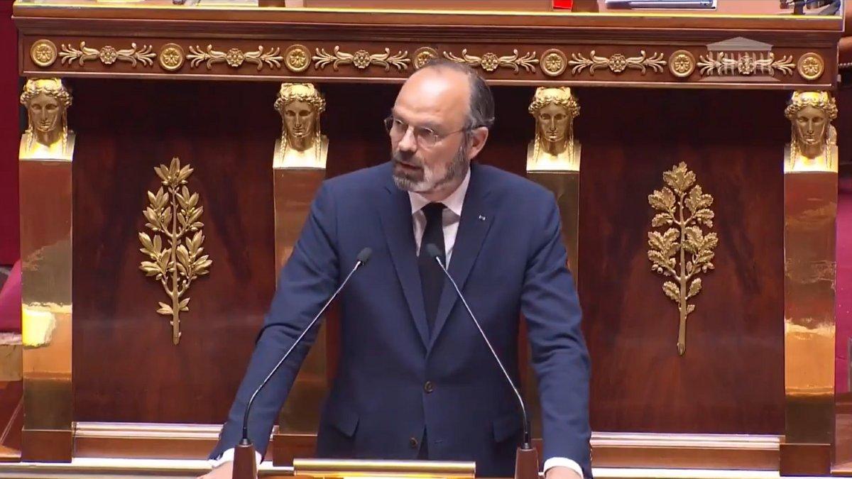 Édouard Philippe, le 28 avril 2020
