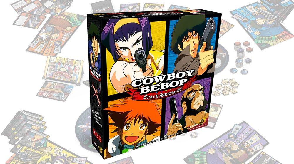 Cowboy bebop - couverture ©Don't Panic Games