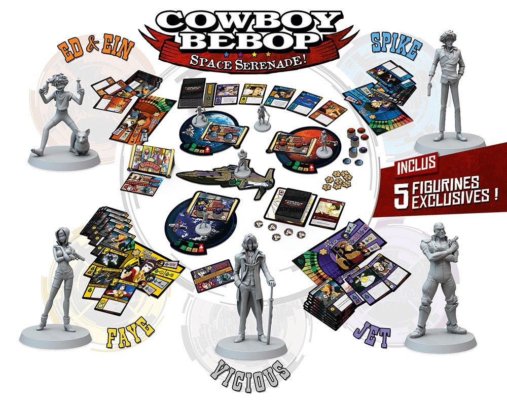 Cowboy bebop - setup ©Don't Panic Games