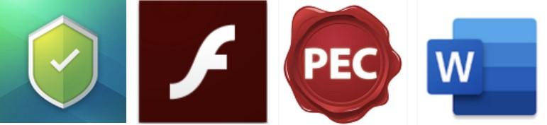 Différents logos usurpés par Event Bot