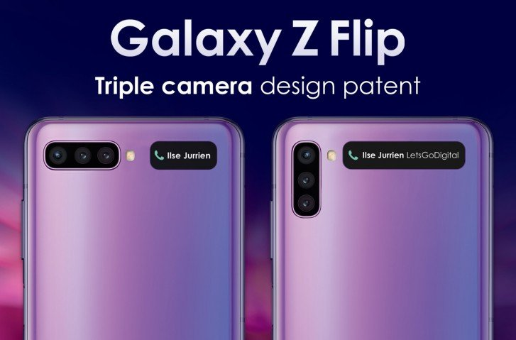 Galaxy Z Flip 2 ©Let's Go Digital
