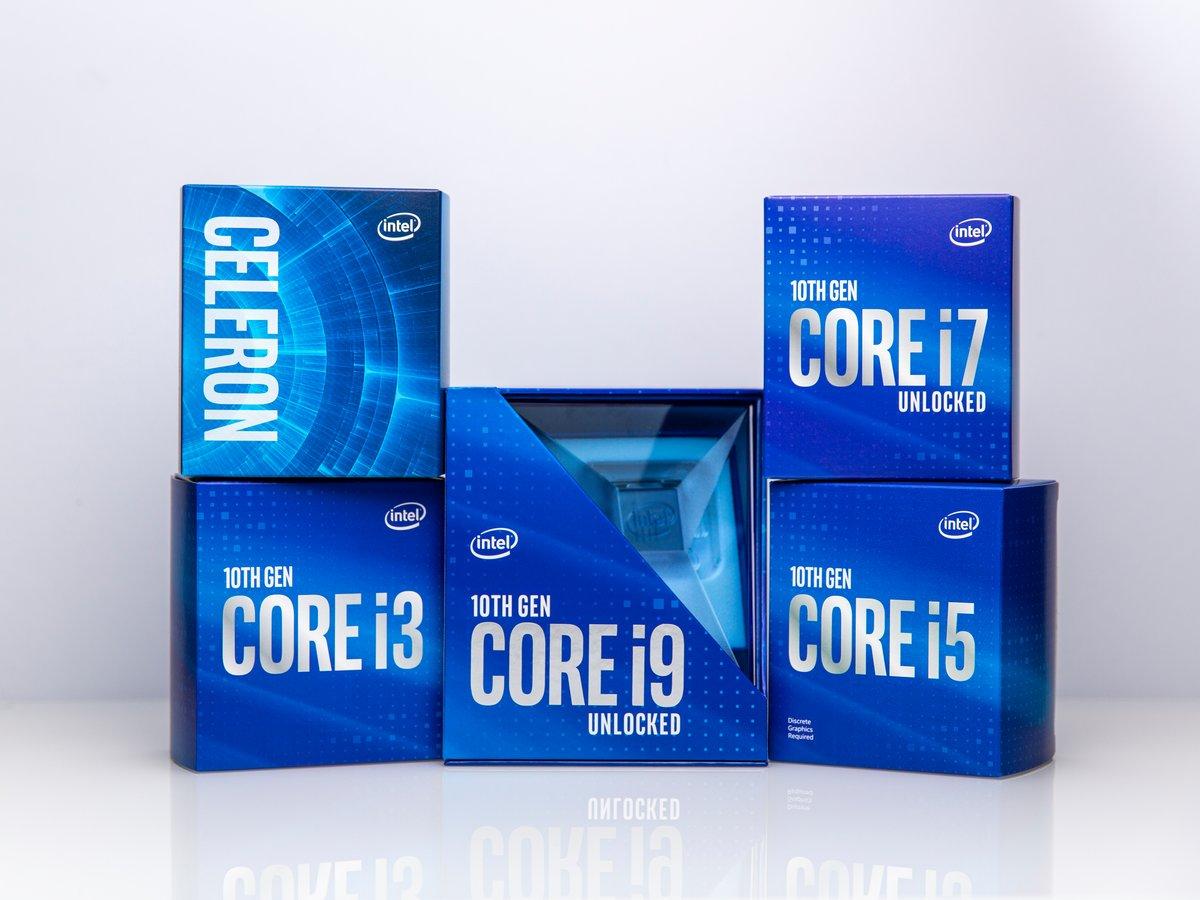 Intel 10th Gen Desktop © © Intel