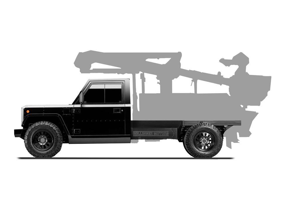 Bollinger Motors B2 CC © Bollinger Motors