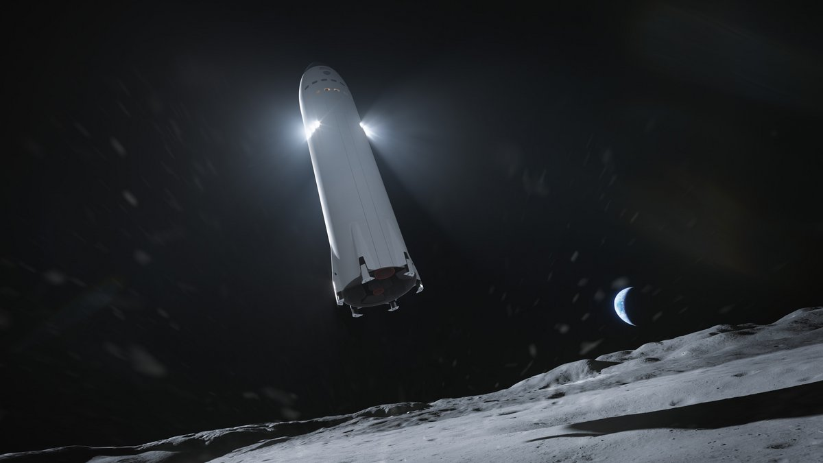 Starship Lune NASA Artemis © SpaceX