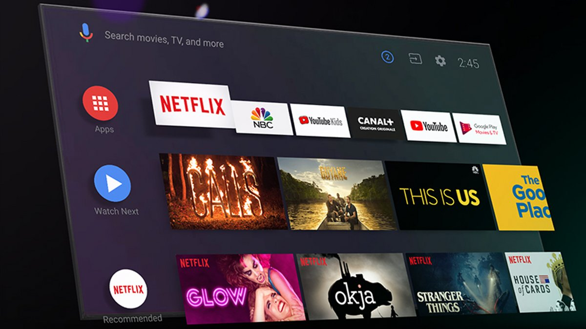 Android TV © Google