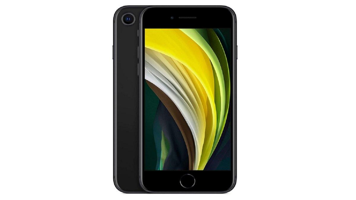iPhone SE Noir