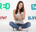 Forfait mobile : les promos RED, Free, B&You et Sosh avant le week-end !