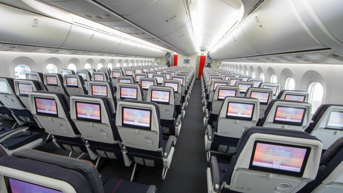 Cabine Air France © Air France