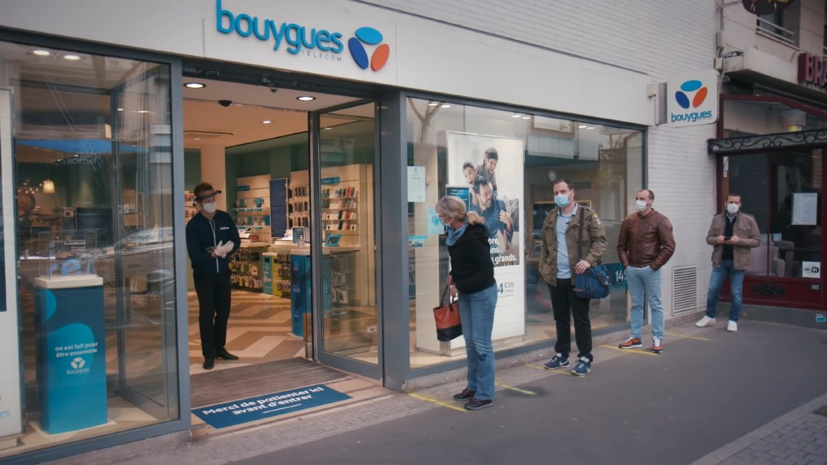 Bouygues Telecom Covid-19