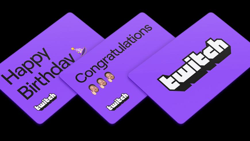 Twitch carte cadeau