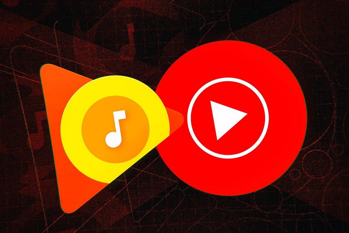 Transfert Google Play Music YouTube Music 1