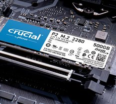 Test Crucial P2 500 : le SSD NVMe performant et accessible