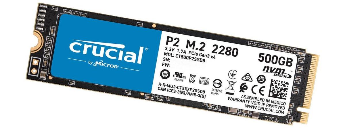 Crucial P2 500