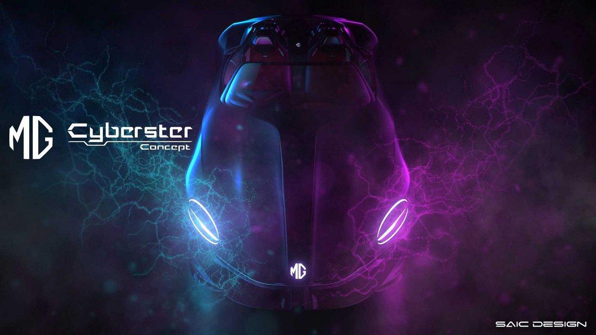 MG Cyberster © SAIC MG