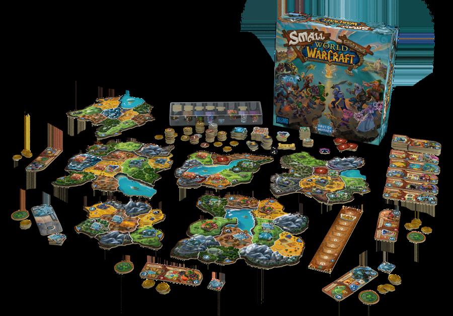 Small World of Warcraft ©Days of Wonder