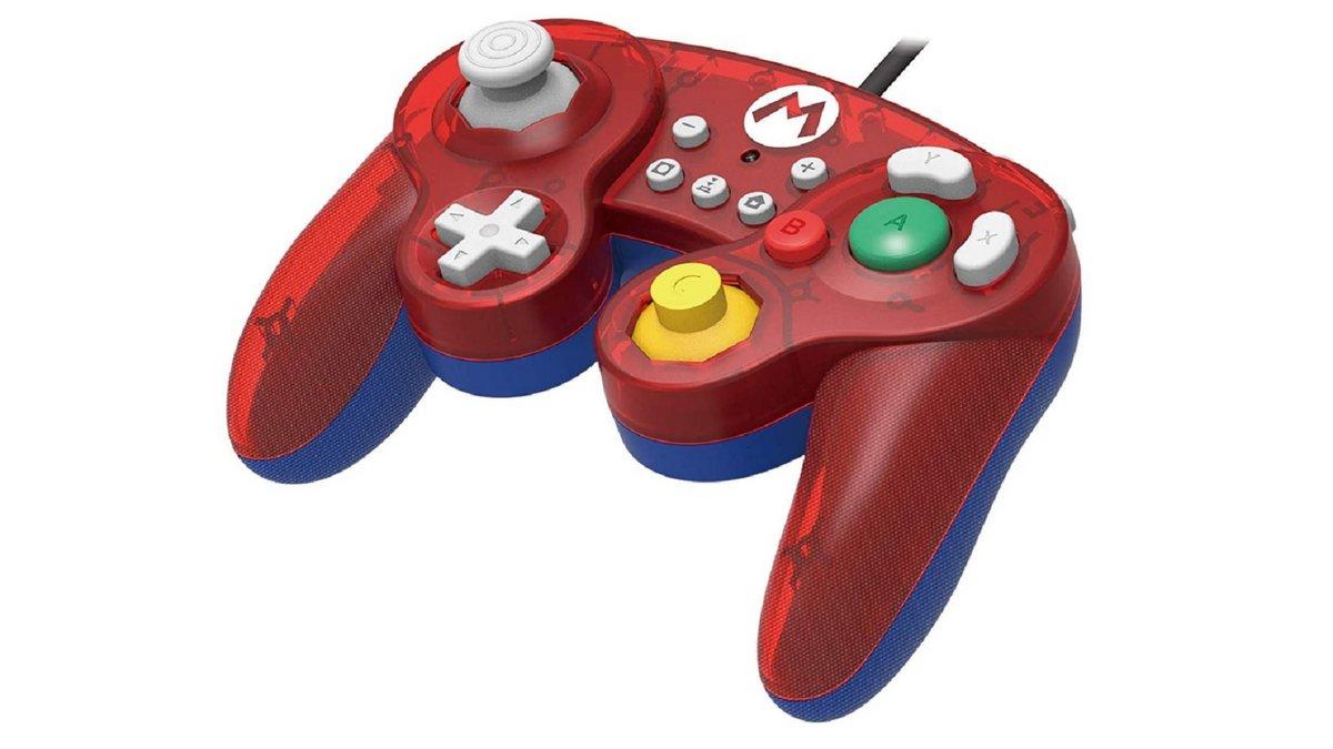 Manette Hori Mario Smash Bros