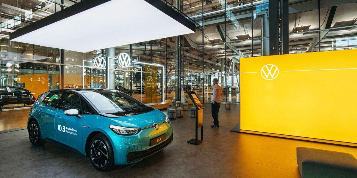 VW ID Store Dresde © Volkswagen