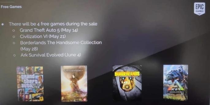 Jeux gratuits Epic Games Store