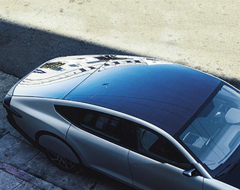 Toit solaire auto