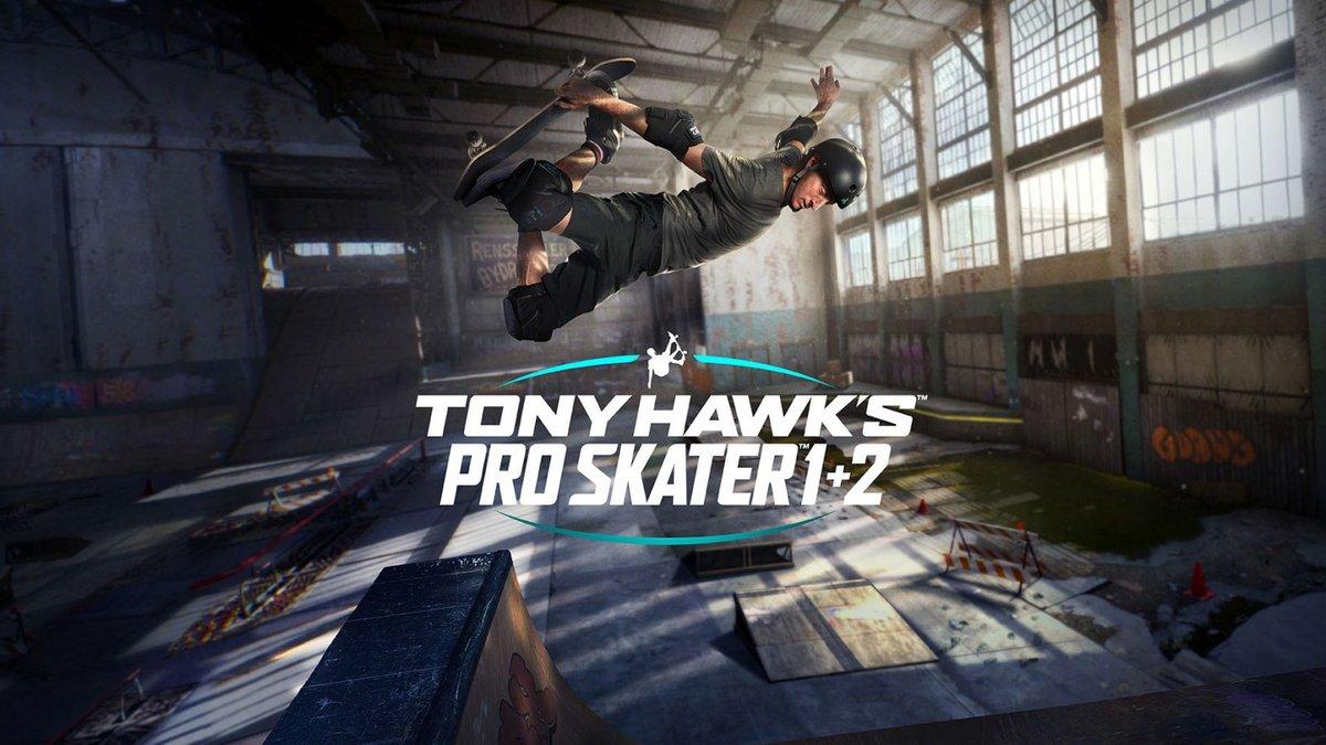 Tony Hawk's Pro Skater 1 + 2 cover