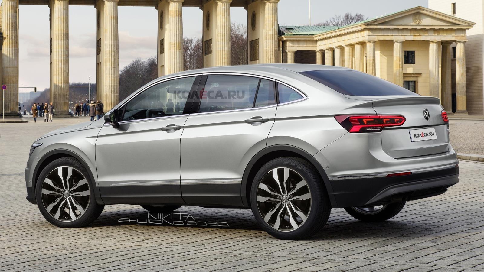 """Le Volkswagen Tiguan """"Coupé"""" arrive avec une version hybride"""