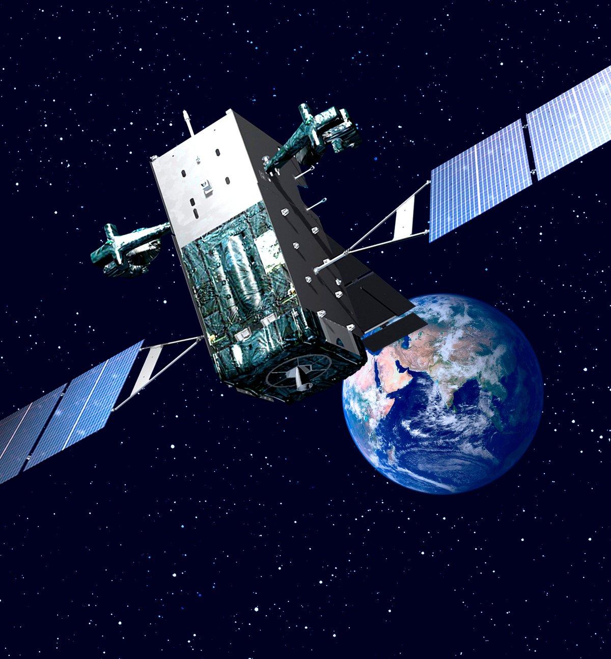 Un satellite de la constellation SBIR ©Lockheed Martin/Space Force