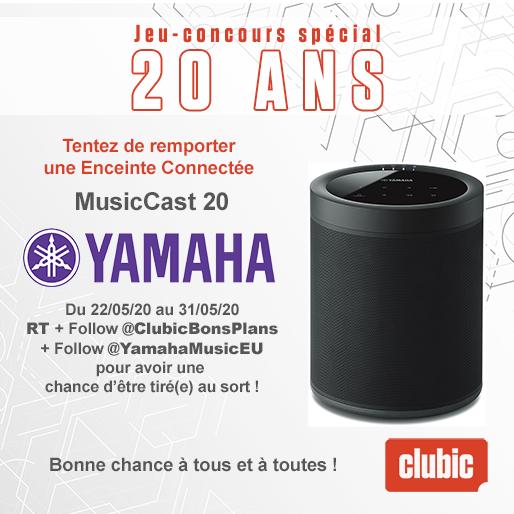 Visuel Jeu Concours 20 ans Yamaha