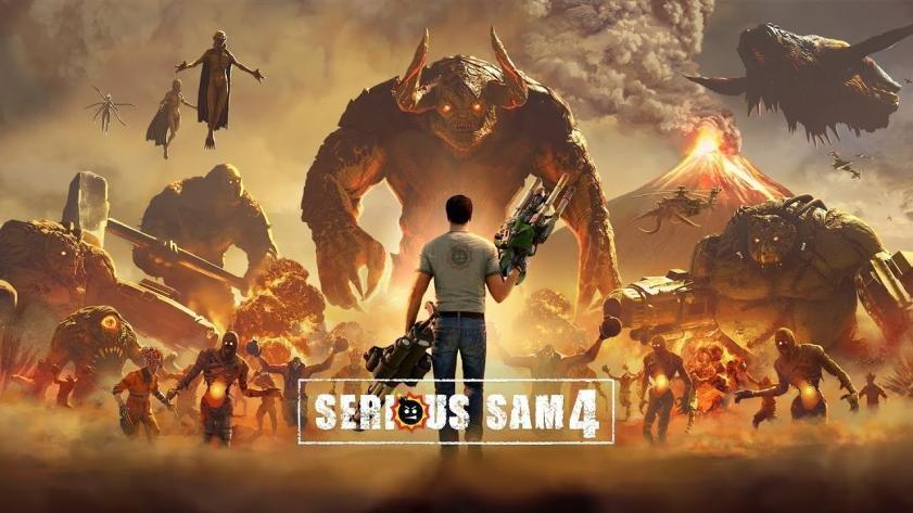 Serious Sam 4 ©Devolver Digital