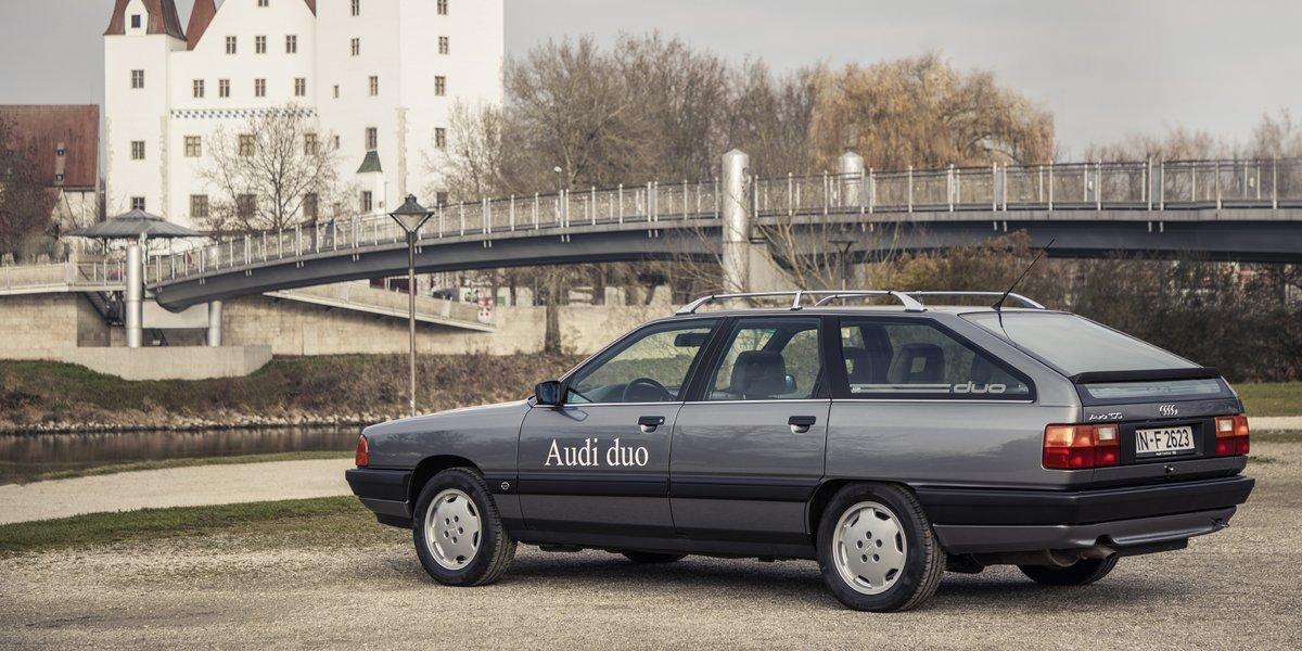 Audi 100 Hybride © Audi