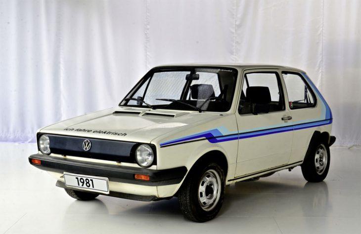 Golf I électrique © Volkswagen