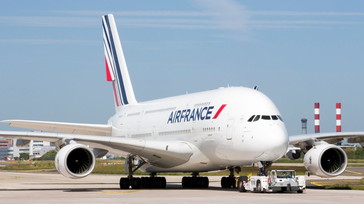 Airbus Air France A380 ©Air France