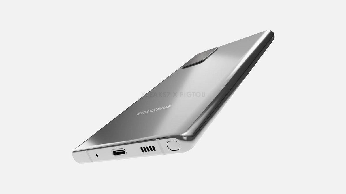 Samsung Galaxy Note 20 rendu ©© Pigtou / xleaks7