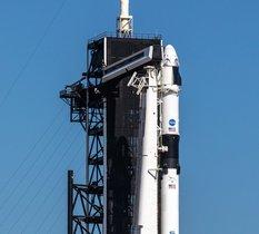 Premier vol habité de la capsule Crew Dragon : H-45 minutes avant le lancement du live !