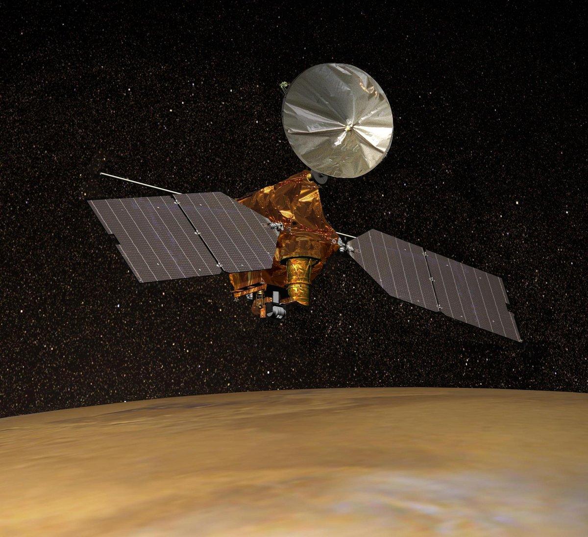 Mars reconnaissance orbiter MRO 1 © NASA/JPL