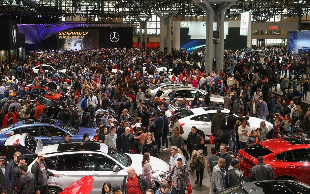 Salon automobile de New York