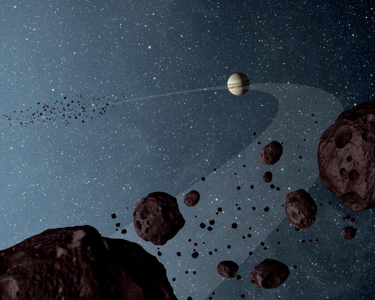 Jupiter Troyen © NASA/JPL-Caltech