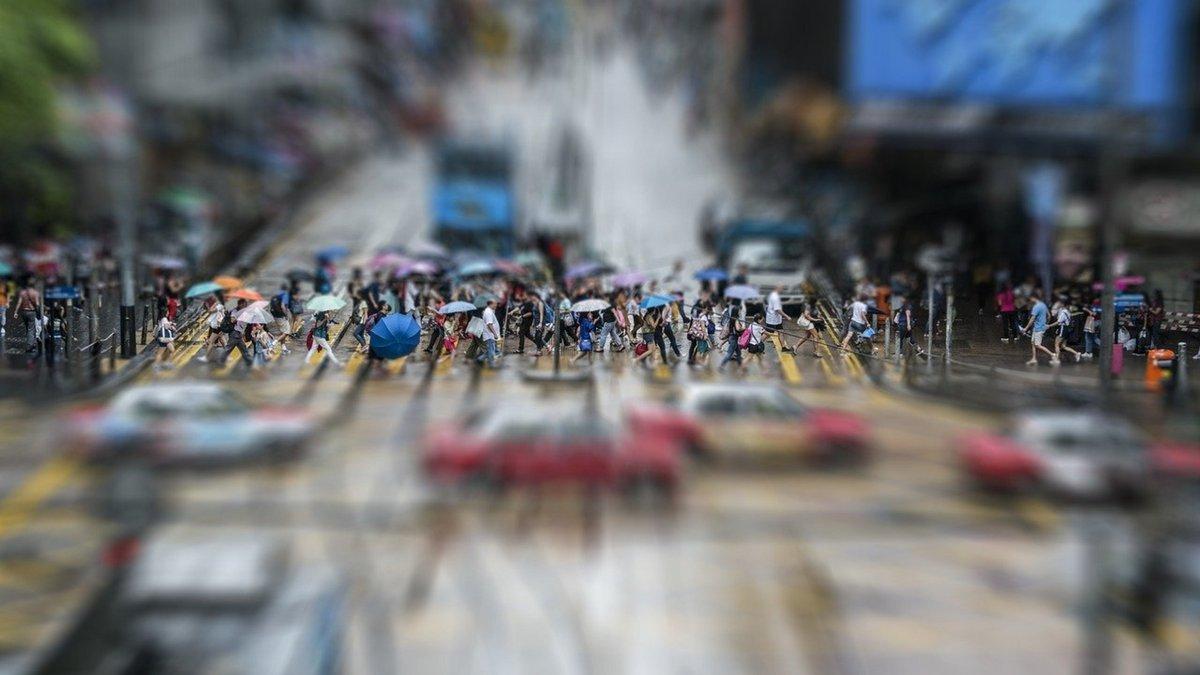 Hong Kong rue © Pixabay