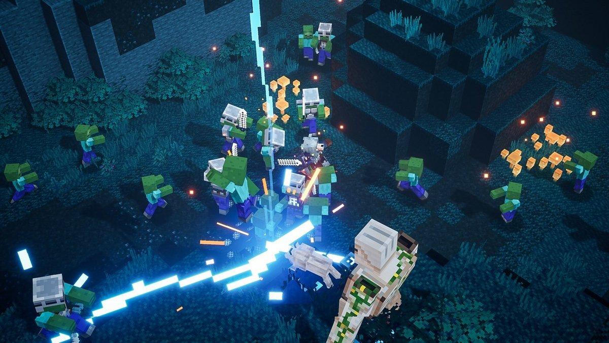Minecraft Dungeons Test